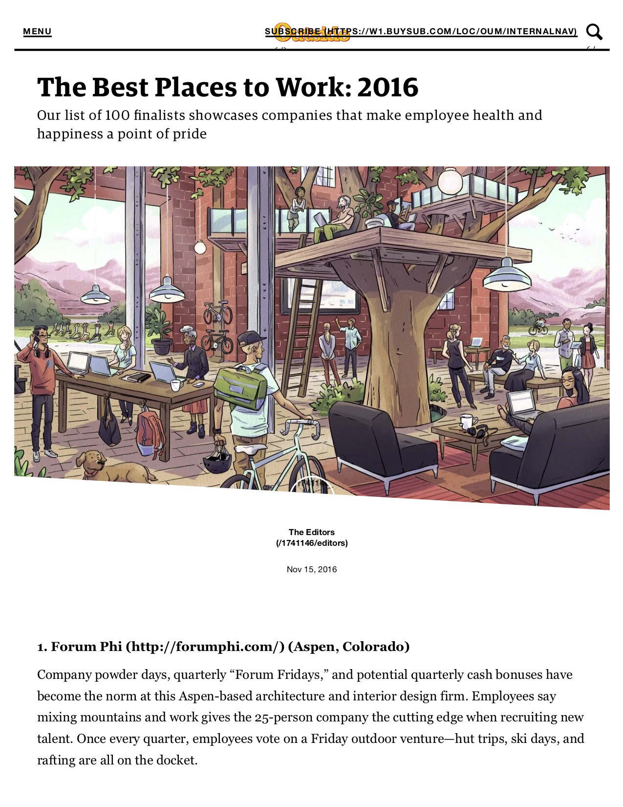 The Best Places to Work pg1